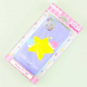 Little Twin Stars Big Star Soft Phone Case for iPhone 11 / XR