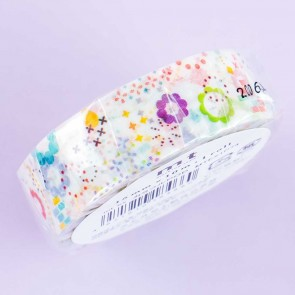 MT Flower Patterns Washi Tape