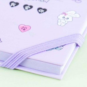 Miss You Bunny Spiral Notepad