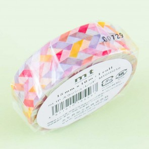 MT Orange Patterns Washi Tape