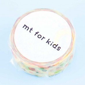 MT For Kids Rainbow Dots Washi Tape