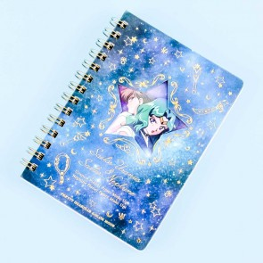 Sailor Moon Spiral Notebook - Sailor Uranus & Neptune