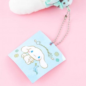 Cinnamoroll & Green Bear Plushie Charm - Medium