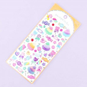 Sparkle Candies Puffy Stickers