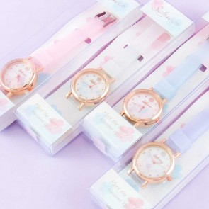 Sakura Pastel-Colored Wristwatch