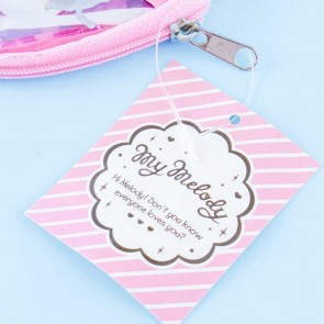 My Melody Strawberry Shake Die-Cut Pouch