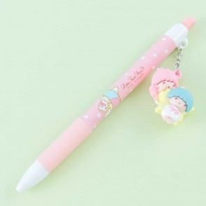 Little Twin Stars Click Pen With Charm