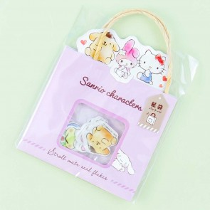 Sanrio Characters Shopping Bag Sticker Flakes