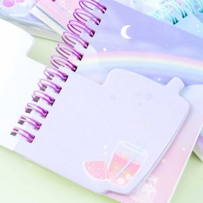 Icy Fruit Punch Softbound Notebook