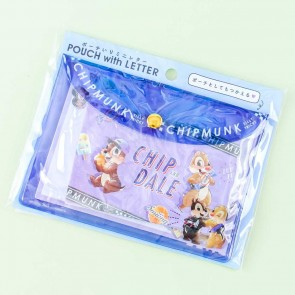 Chip & Dale Candy Pouch With Letter Set