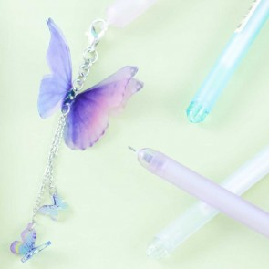 Butterfly Dreams Pen With Charm