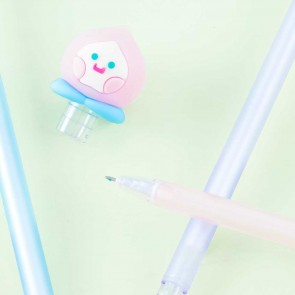 Peach Face Pen
