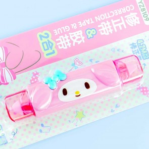 My Melody Correction Tape & Glue Pen
