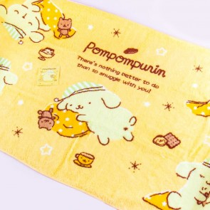 Pompompurin Sleepy Time Bath Towel