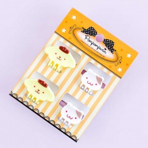 Pompompurin Hair Clips Set