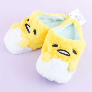 Gudetama Fluffy Indoor Slippers