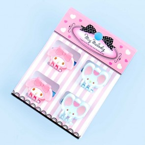 My Melody Hair Clips Set