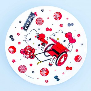 Hello Kitty Hanami Round Plate