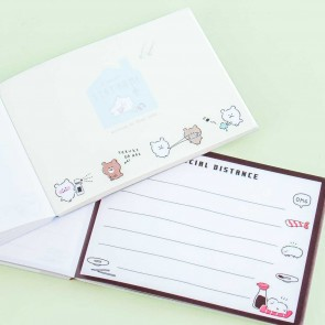 Stay Home & Social Distance Memo Pad