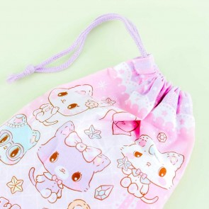 Mewkledreamy & Friends Drawstring Cup Bag