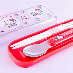 Hello Kitty's Favorite Things Spoon & Chopsticks Set