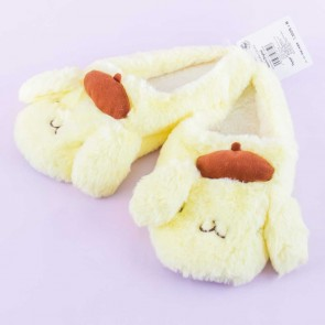 Pompompurin Fluffy Indoor Slippers