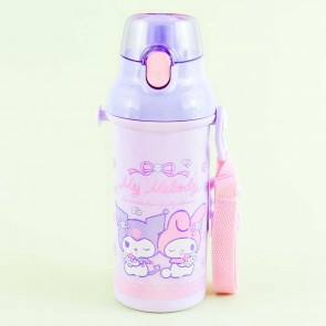 My Melody & Kuromi Springtime One-Touch Water Bottle