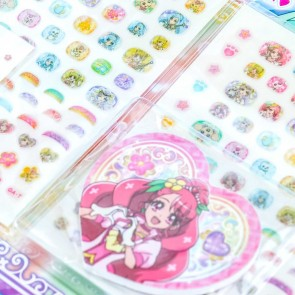 Pretty Cure Sparkly Nail Stickers Set