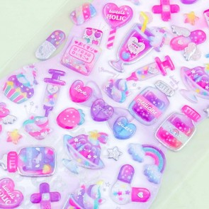 Sweets Holic Pink Purple Stickers