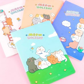 Meow Holiday Notebook