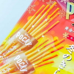 Pocky Biscuit Sticks Winter Bag - Golden Butter Caramel