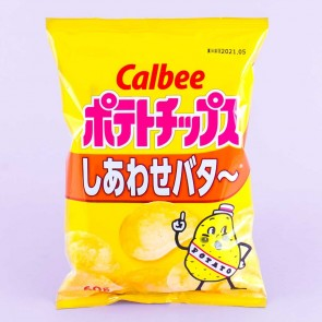 Calbee  Potato Chips - Happy Butter