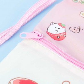 Sumikko Gurashi Strawberry Fair Multi-Strap Bag