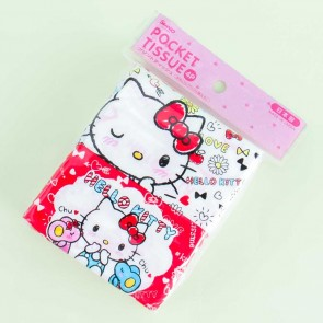 Hello Kitty Love Pocket Tissues - 4 pcs