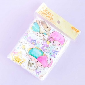 Little Twin Stars Playtime Pocket Tissues - 4 pcs