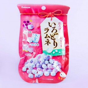 Kabaya Irodori Colorful Ramune Candy