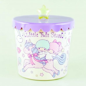 Little Twin Stars Unicorn Ride Round Storage Case