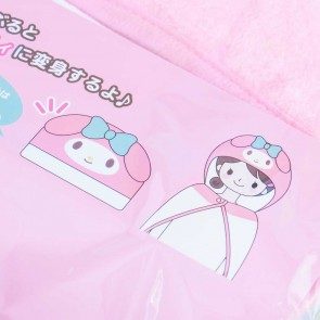 My Melody Fluffy Hooded Blanket