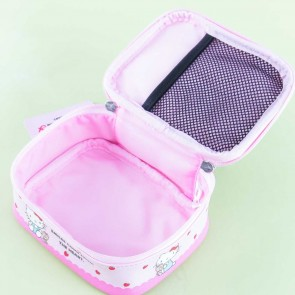Hello Kitty Strawberry Day Square Cosmetic Pouch