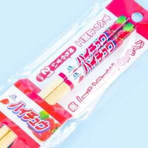 Hi-Chew Strawberry Bamboo Chopsticks