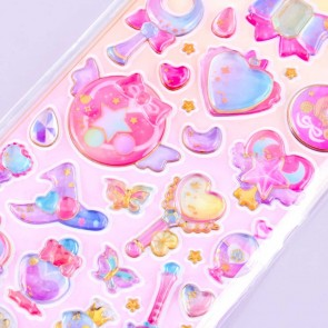 Magical Girl Accessories Stickers
