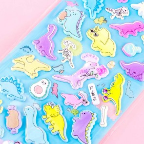 Dino Doodles Puffy Stickers