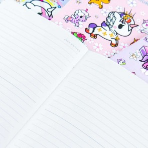 Tokidoki Unicorno Lined Notebook
