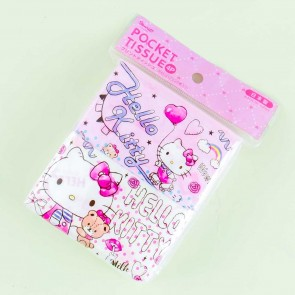 Hello Kitty Roller Skates Pocket Tissues - 4 pcs
