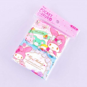 My Melody Spring Tea Time Pocket Tissues - 4 pcs