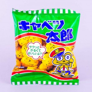 Yaokin Kado Cabbage Taro Corn Snacks
