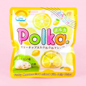 EIWA Polka Marshmallows - Lemon