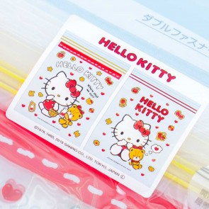 Hello Kitty & Tiny Chum Hearts Zipper Bag Set