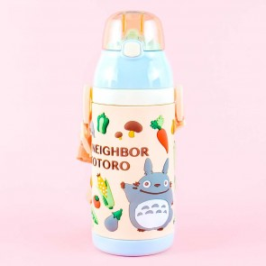 My Neighbor Totoro 3D Vegetables Stainless Steel Bottle