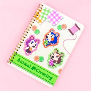 Animal Crossing Able Sisters Spiral Grid Notebook